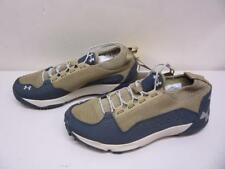 Under Armour Burnt River Leather Hiking Boots Shoes SMS Sample Men's sz 9 Cupron