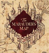Harry Potter Marauders Map A4 Edible Icing Sheet Cake Topper