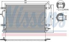 A/C Condenser-GAS, Turbo, B6 Front Nissens 94583