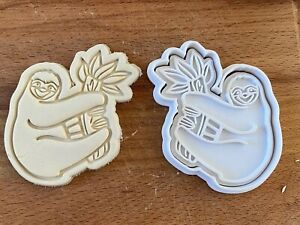 Sloth (3) 2pc Cookie Cutter