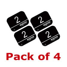 Apixia Phosphor Plates Digital Imaging Size 2 PSP 4/Pack FDA Approved