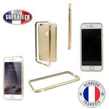 Protection Contour Bumper en Aluminium Coloris Or pour Apple iPhone 6S Plus +