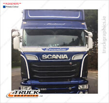 Scania Stoneguard streamline and griffin graphics - (57)