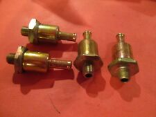 FORD MUSTANG-LINCOLN-MERCURY 200-289-351-390 CI--LOT OF 4---FUEL FILTER-FG14A