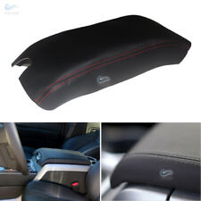 For Ford F150 2009-2014 Leather Center Console Armrest Lid Storage Box Pad Cover