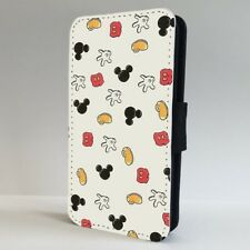 Mickey Mouse Disney Parts Pattern FLIP PHONE CASE COVER for IPHONE SAMSUNG