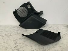 BMW E36 3 series Saloon Touring Pair of Black Footwell Side Speaker Trim Panels