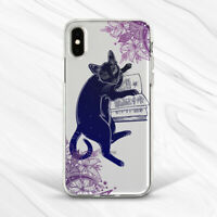 Occult Book Cat Celestial Animal Flower Case For iPhone 6s 7 8 Xs XR 11 Pro SE