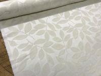 Designer Heavyweight 'Henley' Leaf Chenille Velvet Curtain Fabric Upholstery