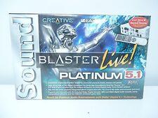 BRAND NEW Creative Sound Blaster Live Platinum 5.1 Sound Card