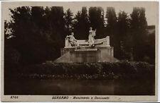 cartolina BERGAMO monumento a donizzetti