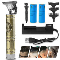 Professional Hair Clippers Cordless Trimmer Shaving Machine Cutting Beard Barber