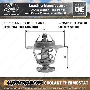 Gates Coolant Thermostat + Gaskets & Seals for Toyota Tarago TCR10 TCR11 2TZ-FE