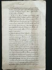 1798 ORDER OF MALTA - FRENCH SIEGE & OCCUPATION OF MALTA