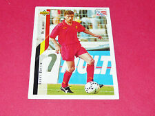DANNY BOFFIN BELGIË DIABLES ROUGES FOOTBALL CARD UPPER USA 94 PANINI 1994 WM94