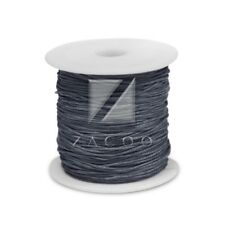1 Roll 80M Waxed Cotton Cord Jewelry Making Thread Beading Supply 0.5mm Gray