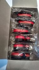 6 Ribbons For Sharp EL-2196BL Calculator Ribbons RED / BLACK