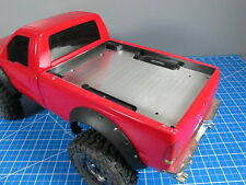 Aluminum Bed Liner Trunk Cover Plate Tamiya Toy RC Toy 1/10 Ford F350 Juggernaut