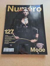 Revue mode fashion NUMERO french #127 octobre 2011 Carmen Pedaru