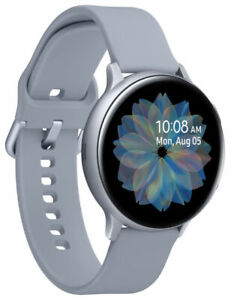 Sealed Samsung Galaxy Watch Active 2 Smartwatch 44mm CLOUD SILVER