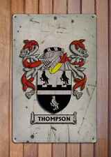 Bennett Coat of Arms A4 Aged Retro 10x8 Metal Sign Aluminium Heraldry