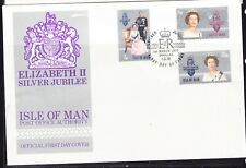 Isle of Man 1977 Silver Jubilee First Day  Cover