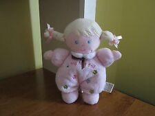 CHILD OF MINE CARTERS MY FIRST DOLL RATTLE BLONDE HAIR