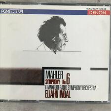 MAHLER: Symphonie No. 6 - Eliahu Inbal (JAP 2-CD-Box Denon 60CO-1327-28 / neu)