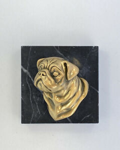 I Am Edgar Berebi  And This Is my Pug Dog   Paperweight ... 125 Retail