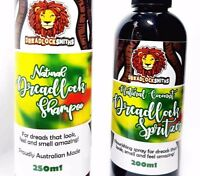 DREADLOCK SHAMPOO/ SPRITZER COMBO! Buy both + save! Natural, Australian. Dreads