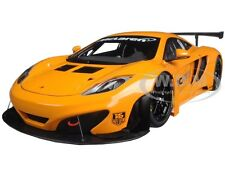MCLAREN 12C GT3 PRESENTATION METALLIC ORANGE 1/18 DIECAST MODEL BY AUTOART 81340