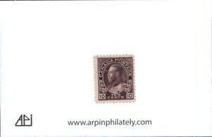 Middlesex Stamp CANADA - #118  KGV Admiralty issue.   ct10