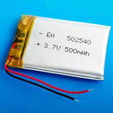 3.7V Li Po li-polymer 500mAh Battery for GPS MP3 Smart Watch Speaker MP4 502540