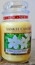 Yankee Candle Tobacco Flower  22 oz.1 Single  Free Shipping  European Release