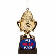 Buffalo Bills Christmas Tree Holiday Ornament New - Team Trophy #1 Fan