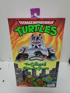 NECA Teenage Mutant Ninja Turtles The Colossal Chrome Dome TMNT - New - Sealed