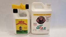 Scoot Mole Repellent Combo Pack