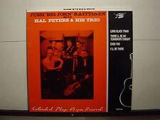 JUSSI BIG JOHN RAITTINEN WITH HAL PETERS & HIS TRIO ROCKABILLY 12EP