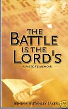 The Battle is the Lord's Benjamin Stanley Baker Signed!