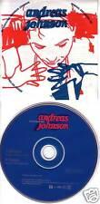 ANDREAS JOHNSON SAMPLER w/2 VIDEO PROMO CD Single dj 99