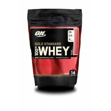PROTEÍNA WHEY GOLD STANDARD 450 gr Sabor CHOCOLATE-  ON - CONCENTRADO + AISLADO