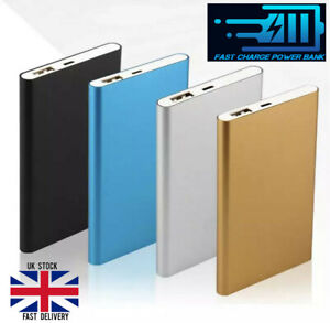 Power bank 5000 MaH Phone Charger Slim Portable Fast Charging Laptop Tablet USB