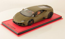 1/18 MR Collection Lamborghini Huracan Evo Coupe Matte Green limited 5 pcs
