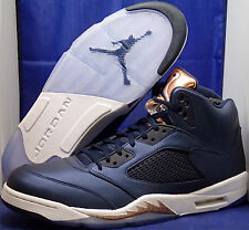 separation shoes 4a37e c8e50 Nike Air Jordan 5 V Retro Bronze Medaille Sz 18 (136027-416)
