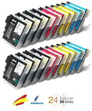 20 tinta compatible LC980 non oem Brother DCP375CW DCP377CW MFC250C MFC255CW