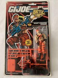 "SEALED GI Joe Battle Corps NIGHT CREEPER LEADER 3.75"" Action Figure  Hasbro 1992"