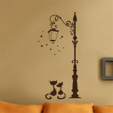 Living Room Kid Home Accessories Decoration Fashion Decal Cute Cat Wall Stickers