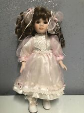 Seymour Mann Connoisseur Collection Porcelain Doll Hand Painted & Sewn RARE