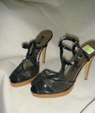 Clubwear Peep Toes Synthetic Slim Heels for Women