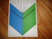 Harris-Seybold Book of Bindery Equipment Catalog Book Binding